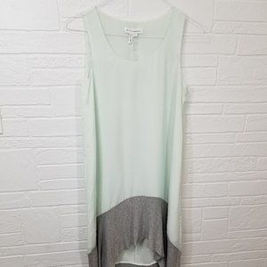 BCBGeneration Flowy Mint Green Dress XS